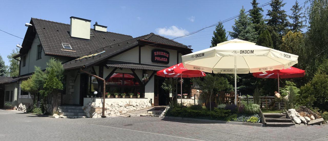 Restauracja, Dom weselny, Pokoje gościnne Kuchnia Polska